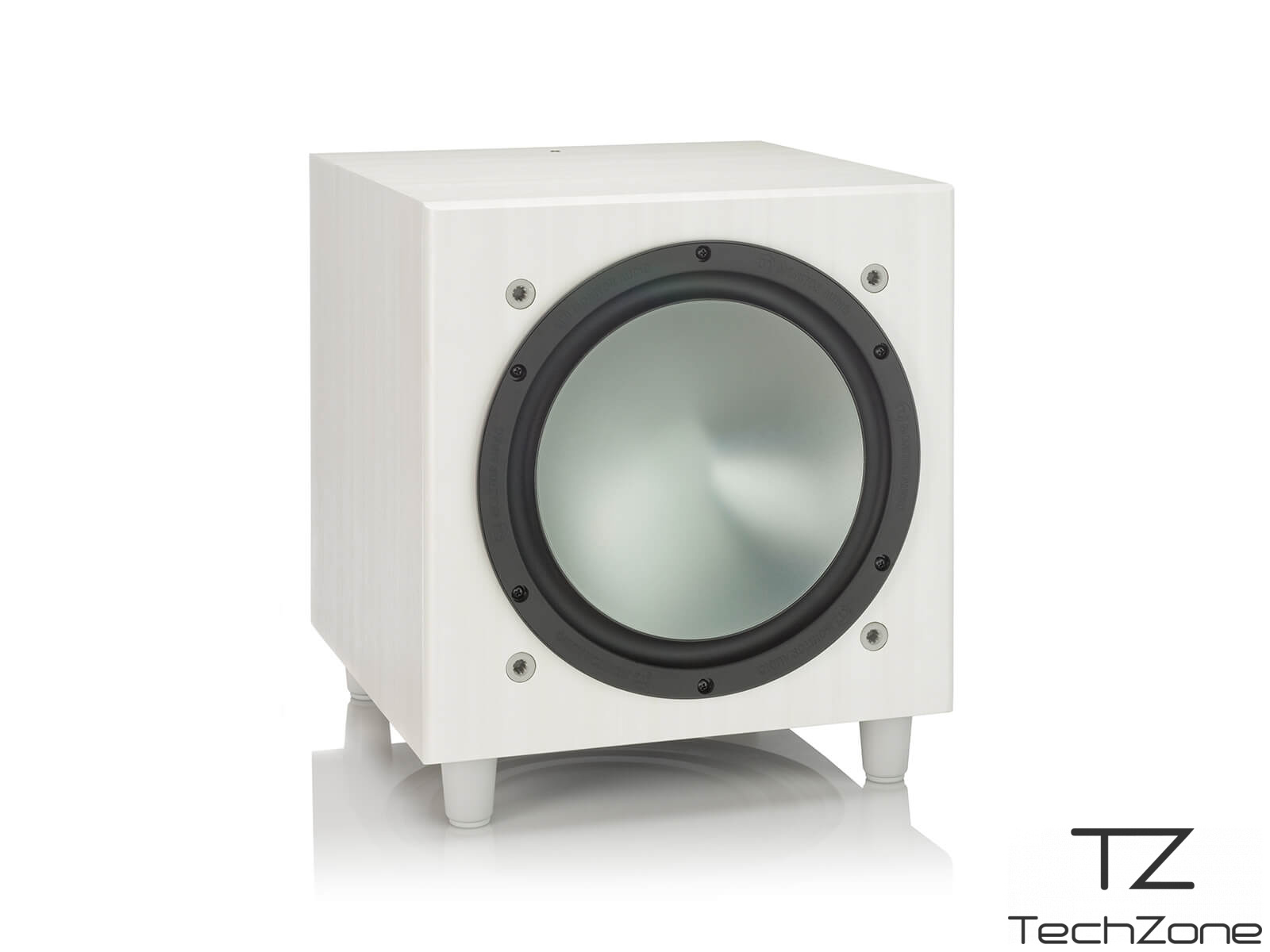 Cабвуфер активный Monitor Audio BRONZE W10 White 1 – techzone.com.ua