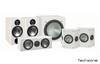 Cабвуфер активный Monitor Audio BRONZE W10 White 3 – techzone.com.ua